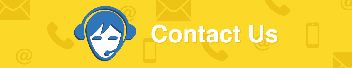contact us page banner